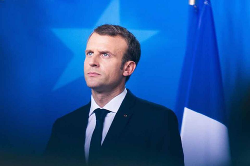 Cae popularidad de presidente francés a su nivel más bajo