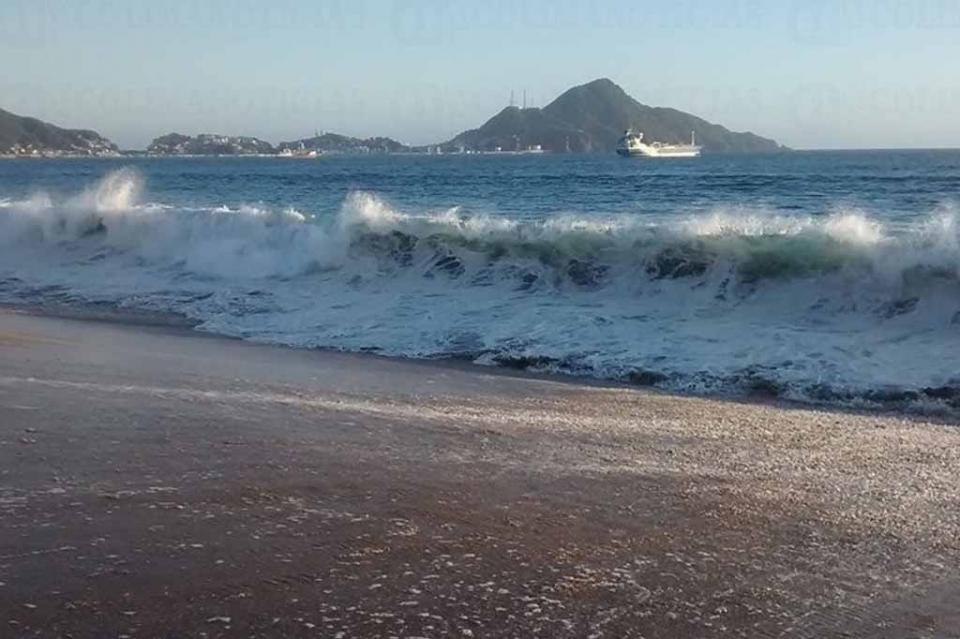 Meteorológico prevé mar de fondo en costas del Océano Pacífico