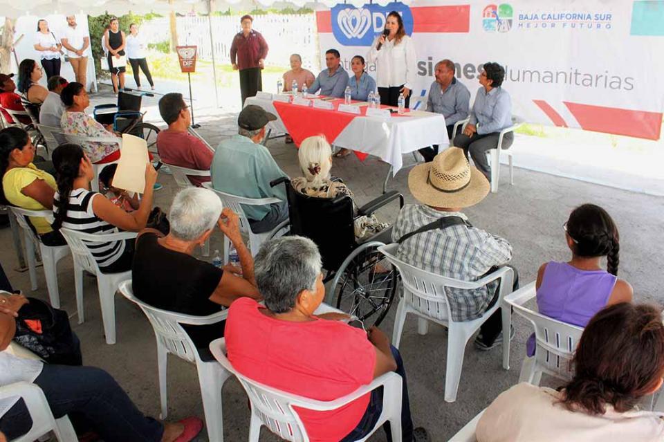 Continúa la entrega de pensiones humanitarias a población vulnerable