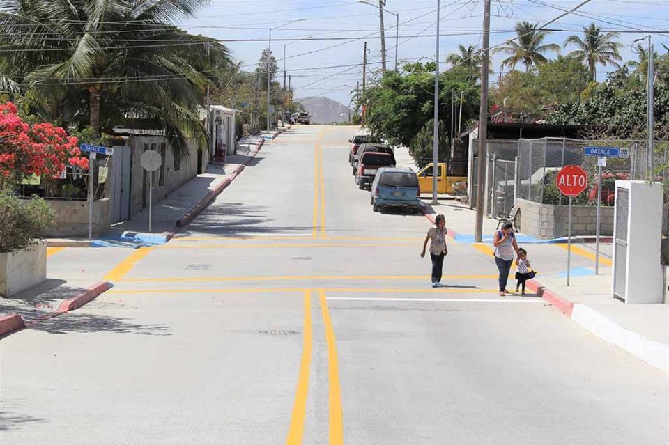Se fortalece infraestructura vial en Los Cabos