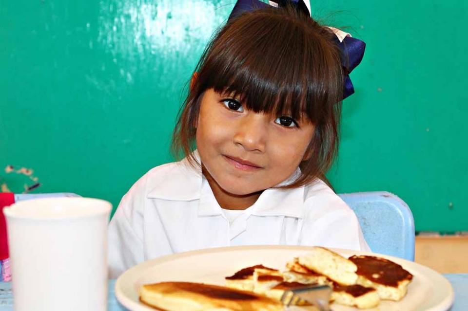 Cumple programa de Desayunos Escolares