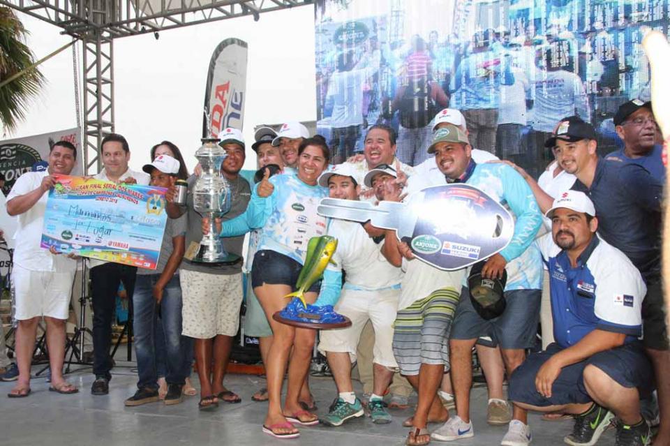 Rompe récord de participación de pescadores en la Copa Calisureños 2018