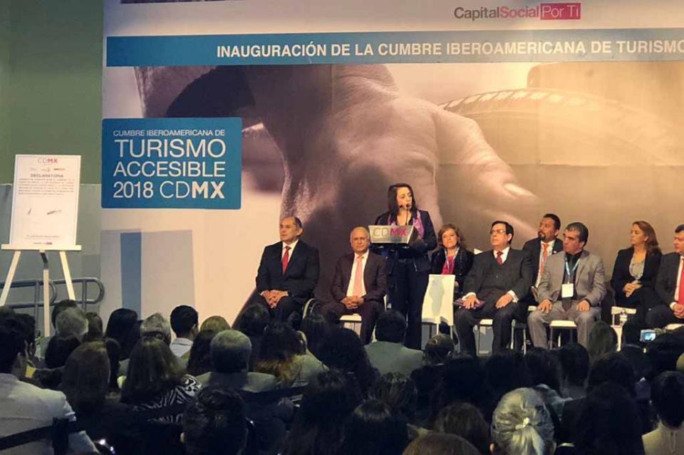Participa BCS en Segunda Cumbre Iberoamericana de Turismo Accesible