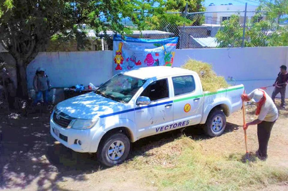 Salud realiza acciones de saneamiento básico en unidades médicas de Los Cabos