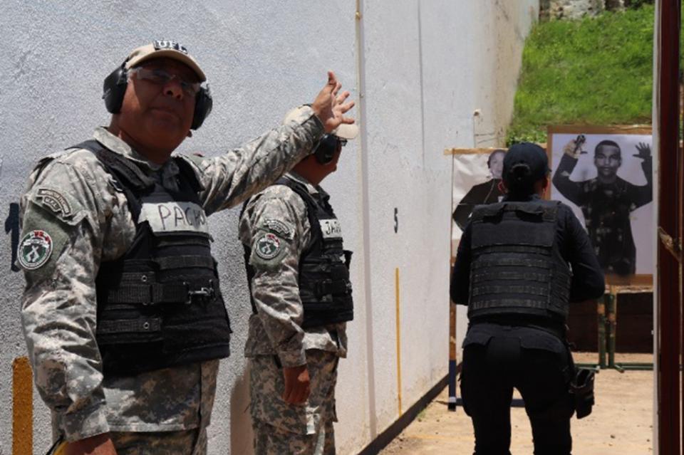Policía Estatal preventiva a la vanguardia en capacitación internacional