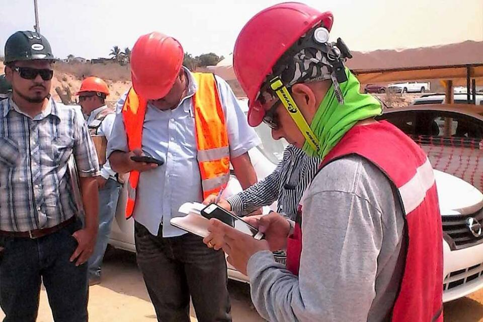 Secretaría del Trabajo inspecciona obras en construcción