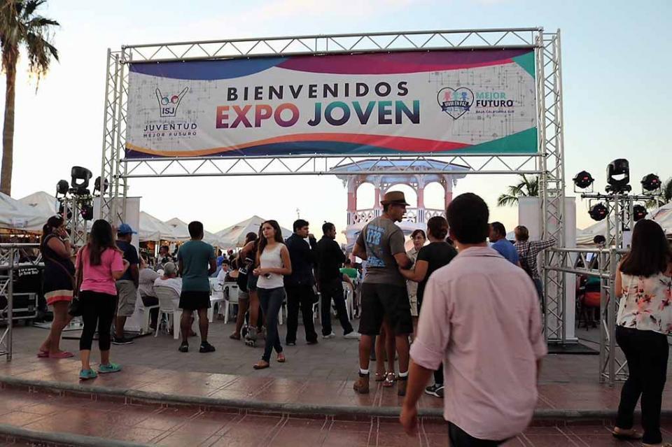 Todo un éxito la 'Expo Joven'2018 La Paz