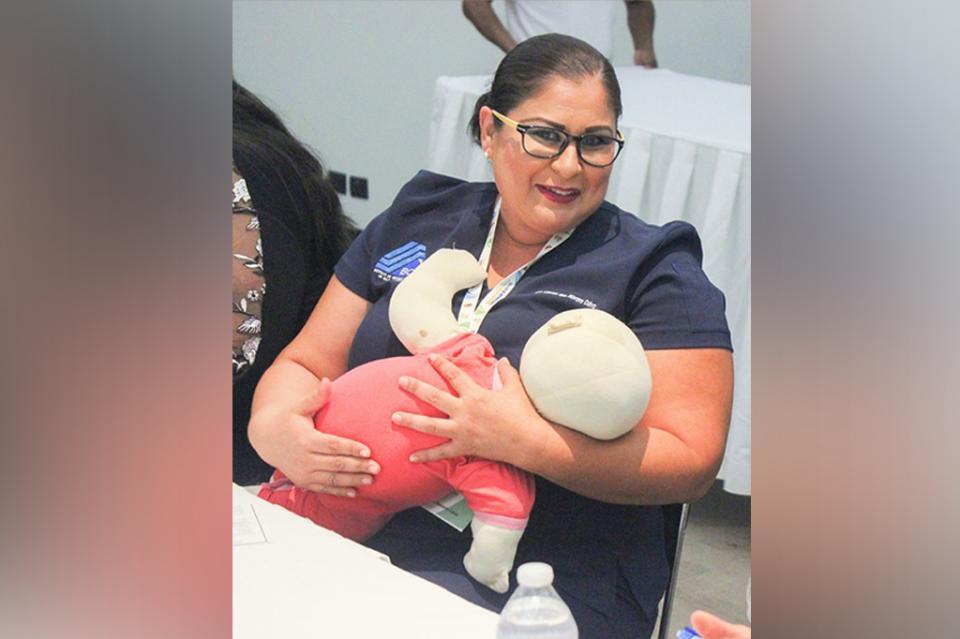 Secretaría de Salud capacita a personal en el fortalecimiento de la lactancia materna