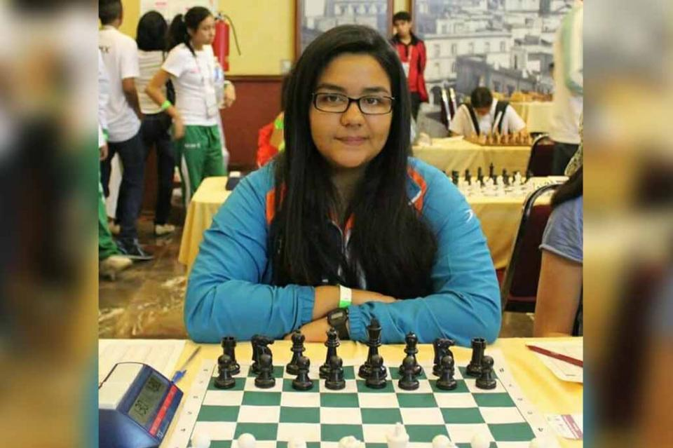 Alista Ayleen Ramírez participación mundial en Ajedrez