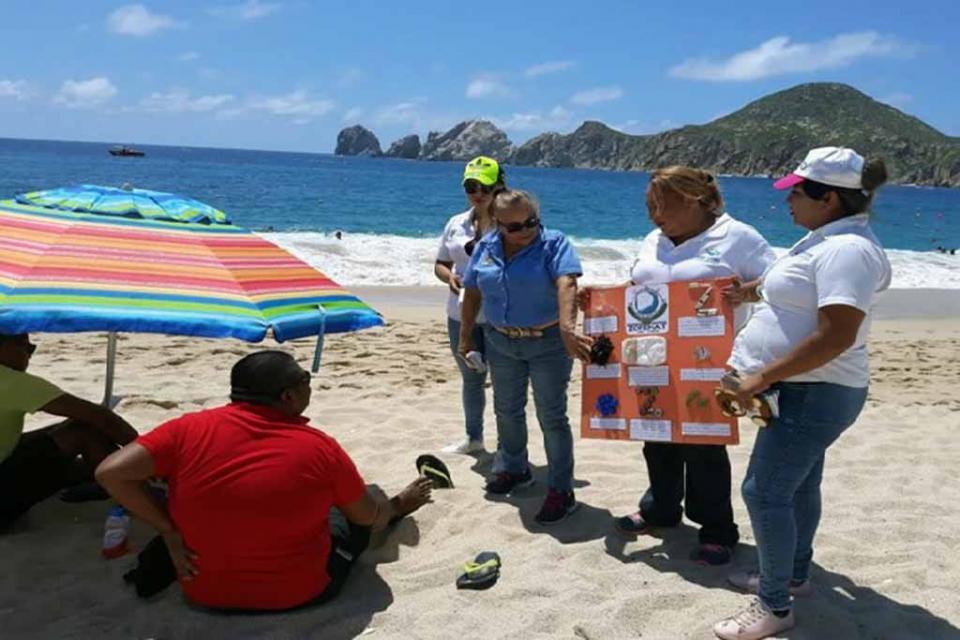 Educación Ambiental realiza recorridos por costas de CSL