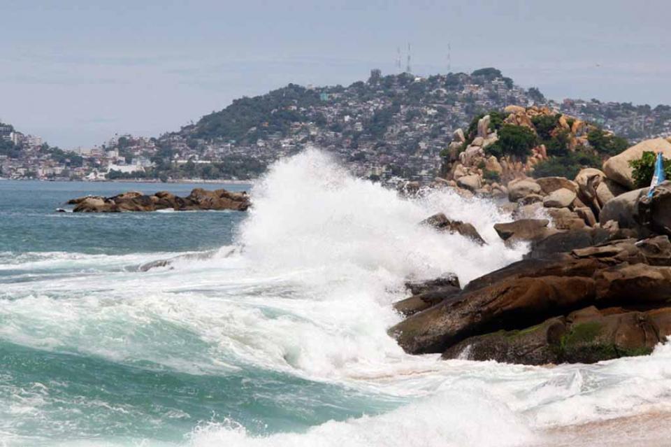 Prevén evento de mar de fondo desde Chiapas hasta Baja California Sur