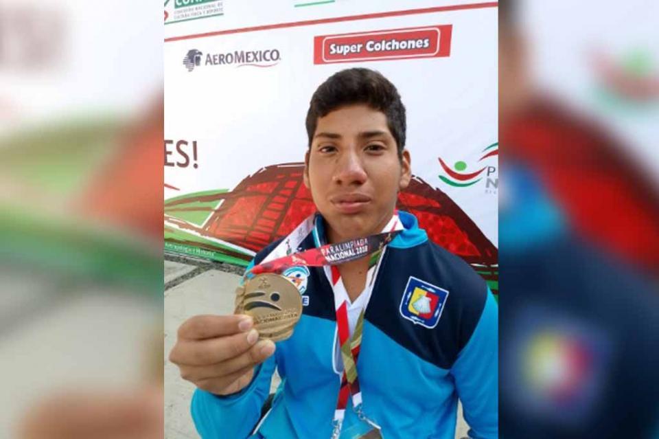 Es Jesús Domínguez bicampeón Paralímpico
