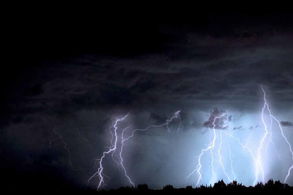 Tormentas con actividad eléctrica se prevén en norte, occidente y sur del país