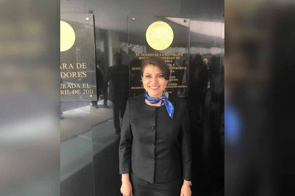 Toma protesta Guadalupe Saldaña Cisneros como Senadora de la República