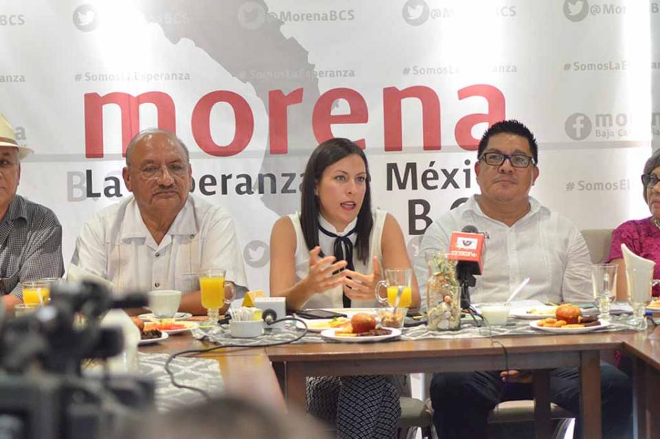 Presenta Fracción de Morena Agenda Legislativa para desahogar en la XV Legislatura