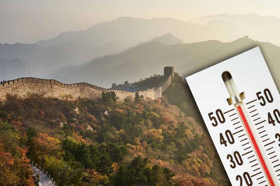 China vive temperaturas más altas en 57 años