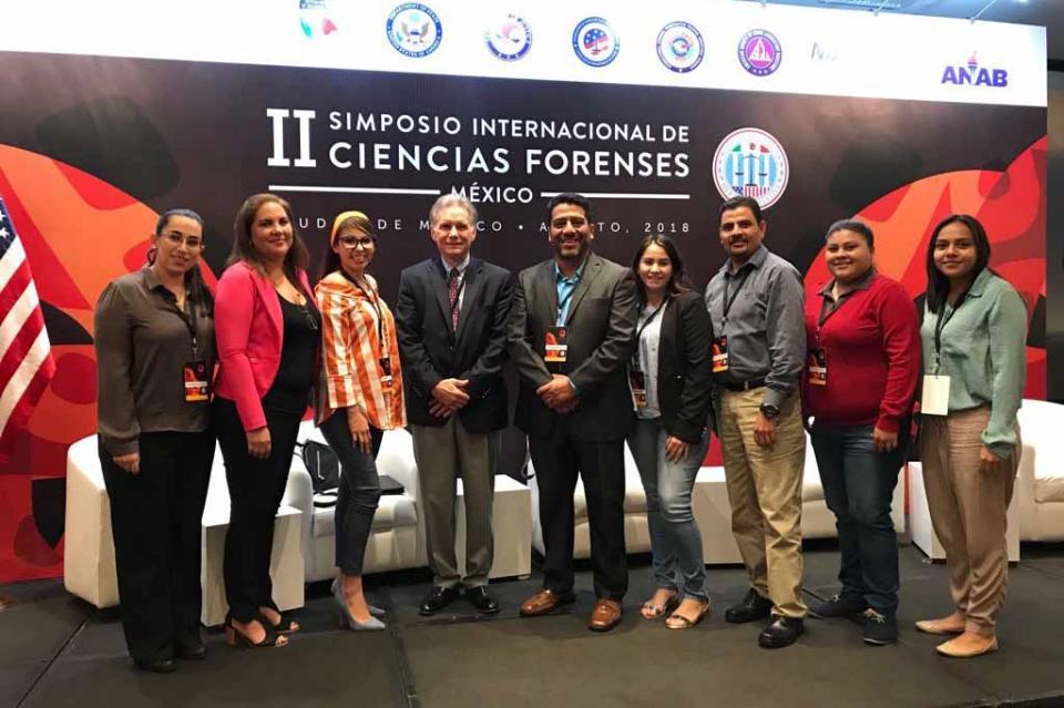 Participa PGJE en II Simposio Internacional de Ciencias Forenses