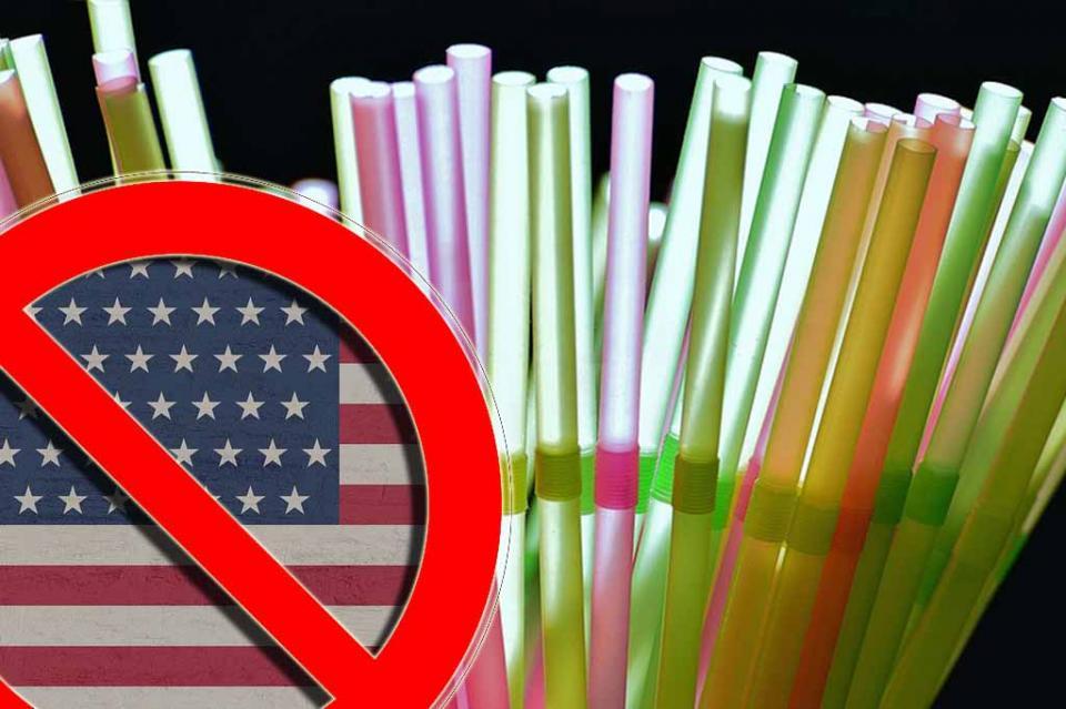 California prohíbe popotes en restaurantes