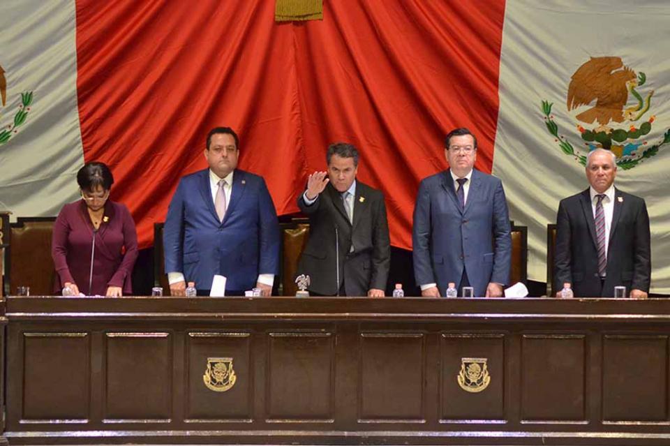 Congreso del Estado elige a la Mesa Directiva