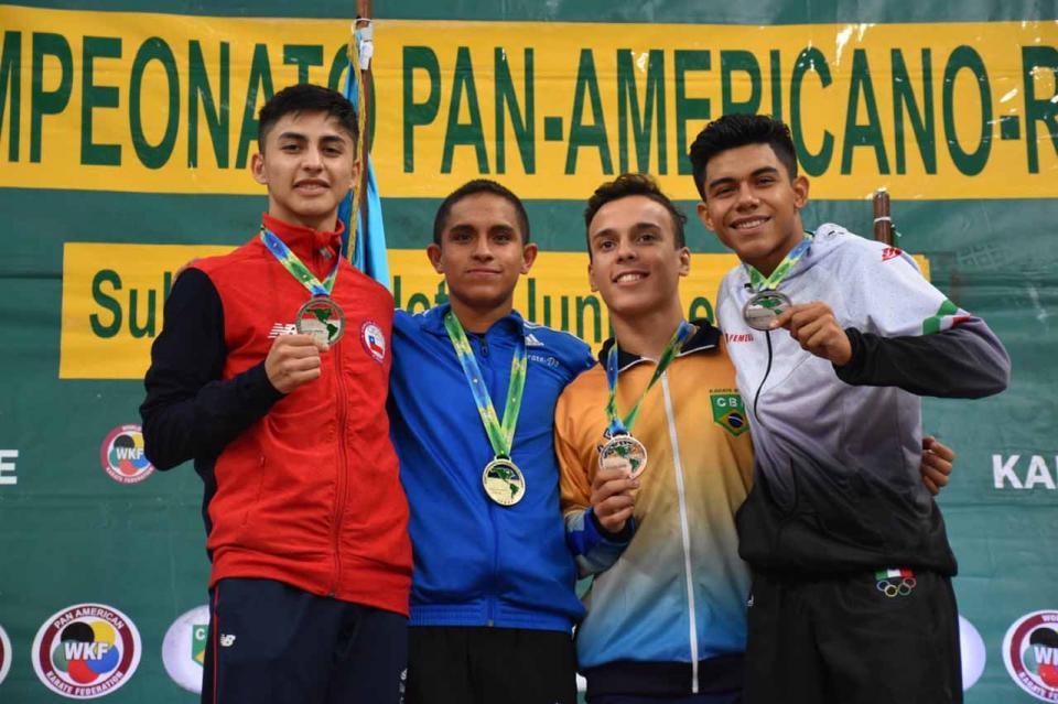 El karateca cabeño Víctor Valdovinos se lleva medalla de bronce en Campeonato Panamericano de Brasil