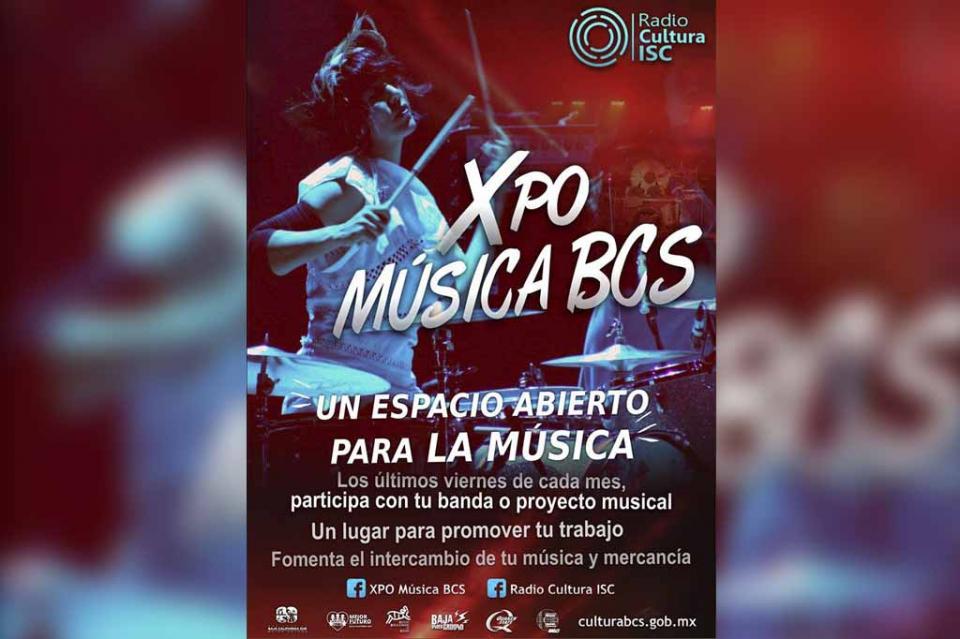 """Todo listo para la inauguración de la """"XPO Música BCS"""""""