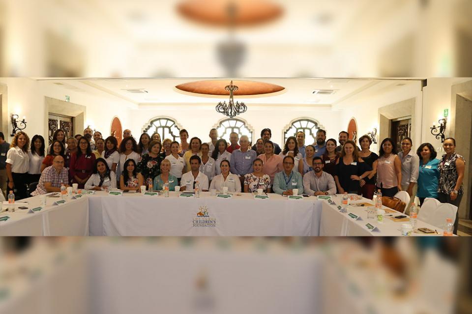 Asiste Vianey Núñez a la reunión anual de programas aliados de Los Cabos Children´S Foundation