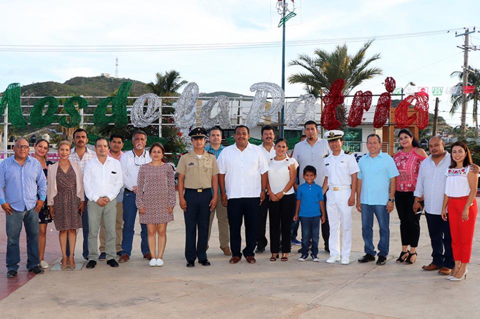 """Inician las celebraciones de Septiembre """"Mes de La Patria"""" en la delegación de Cabo San Lucas"""