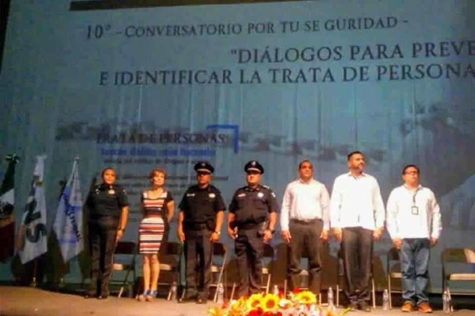 """Se realizó el 10º. Conversatorio por tu seguridad, """"Diálogos para prevenir e identificar la trata de personas"""""""