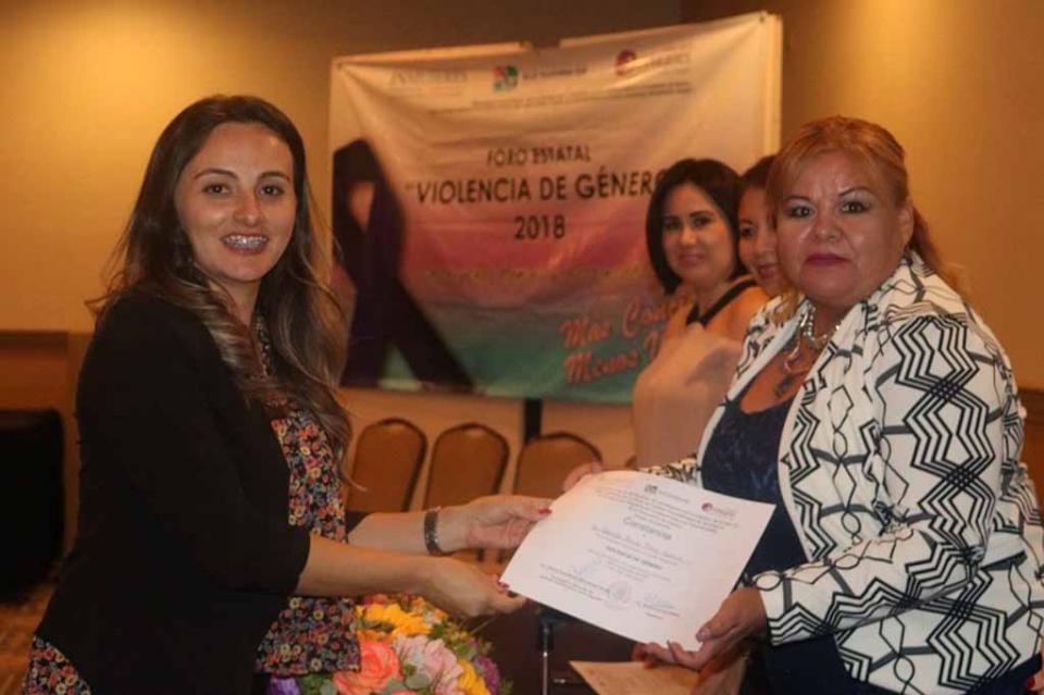 IMMUJER La Paz participa en Foro Estatal de Violencia de Género