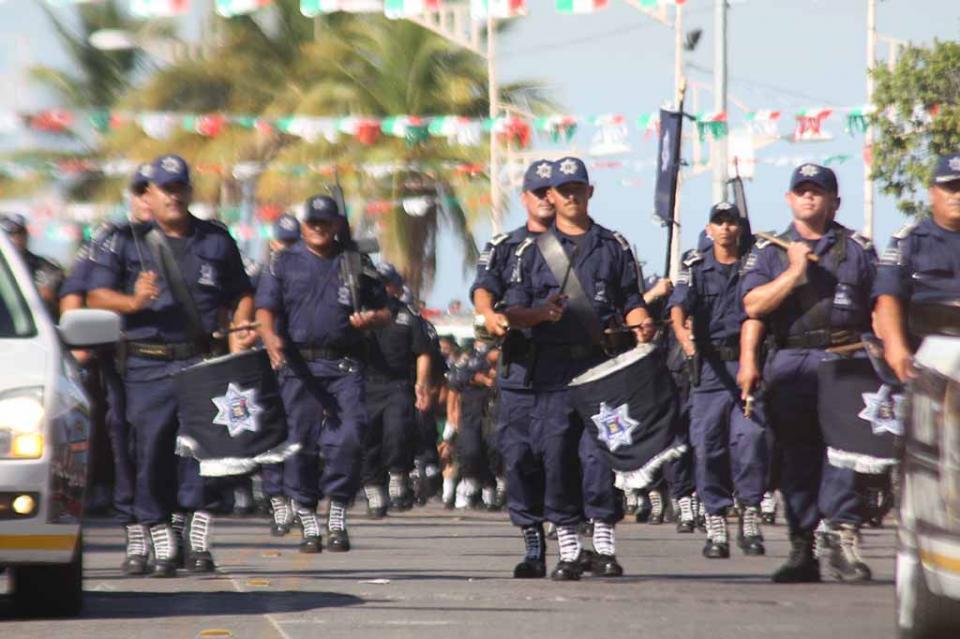 Implementará Policía Municipal operativo de Festejos Patrios