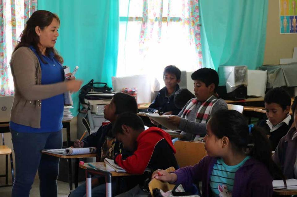 Se oferta en BCS educación integral de calidad a alumnos migrantes