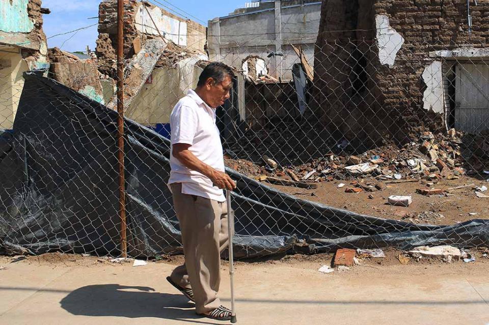 """""""El sismo continúa"""" en el sur de México, un año después del terremoto"""