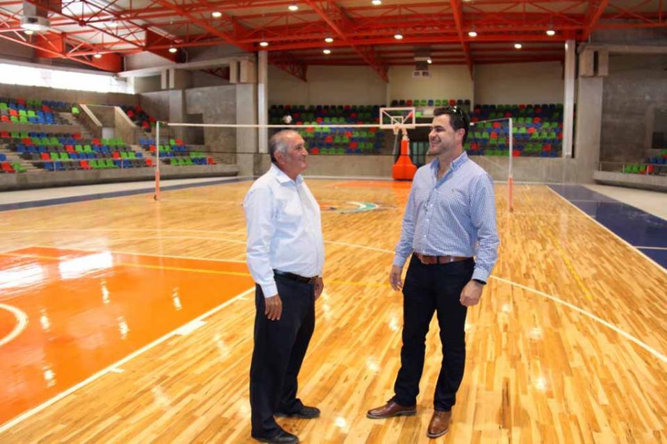 Inaugurarán el 12 de septiembre Arena La Paz