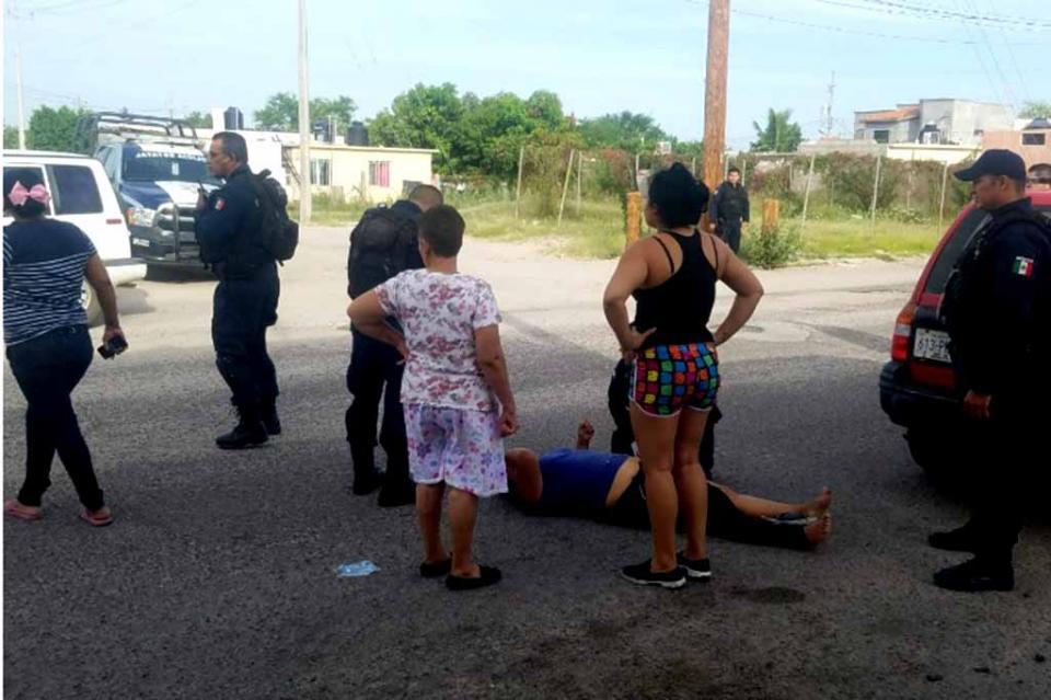 Atropellan a una mujer en fraccionamiento Camino Real