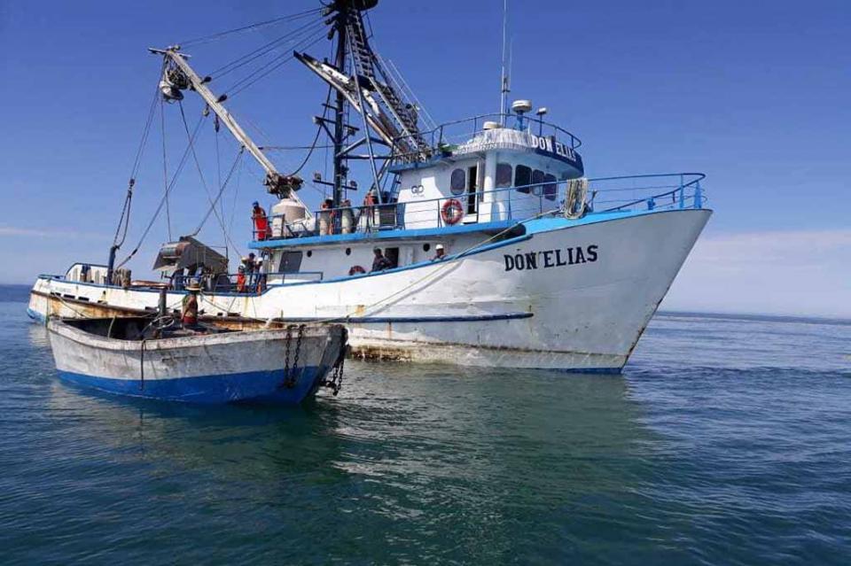"Asegura Profepa barco sardinero ""Don Elías"" por realizar pesca comercial en Vizcaíno"