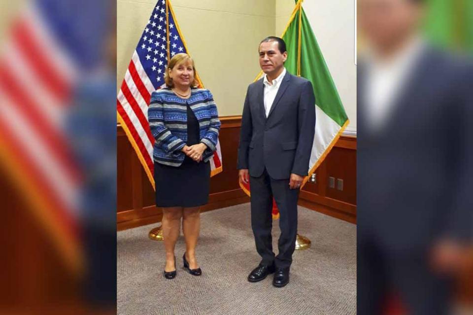 Procurador de Justicia y Cónsul de Estados Unidos en Tijuana acuerdan acciones