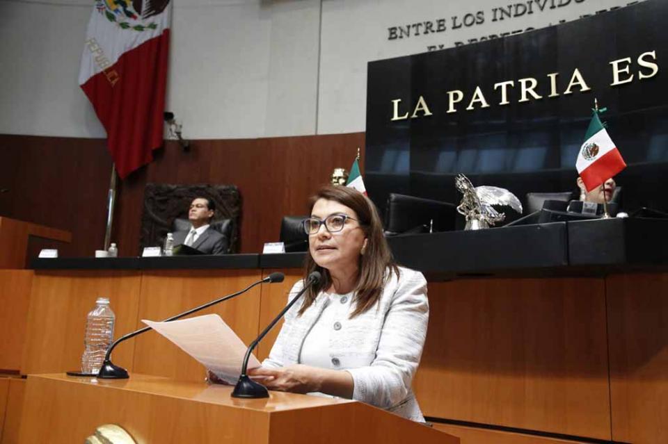 Impulsa Senadora Saldaña Cisneros reformas para salvaguardar las áreas naturales protegidas