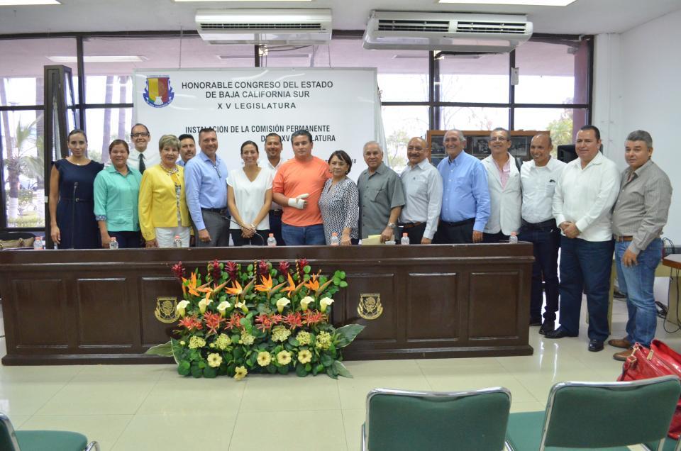Se instala la comisión del deporte, Dip. José Luis Pérpuli es el presidente