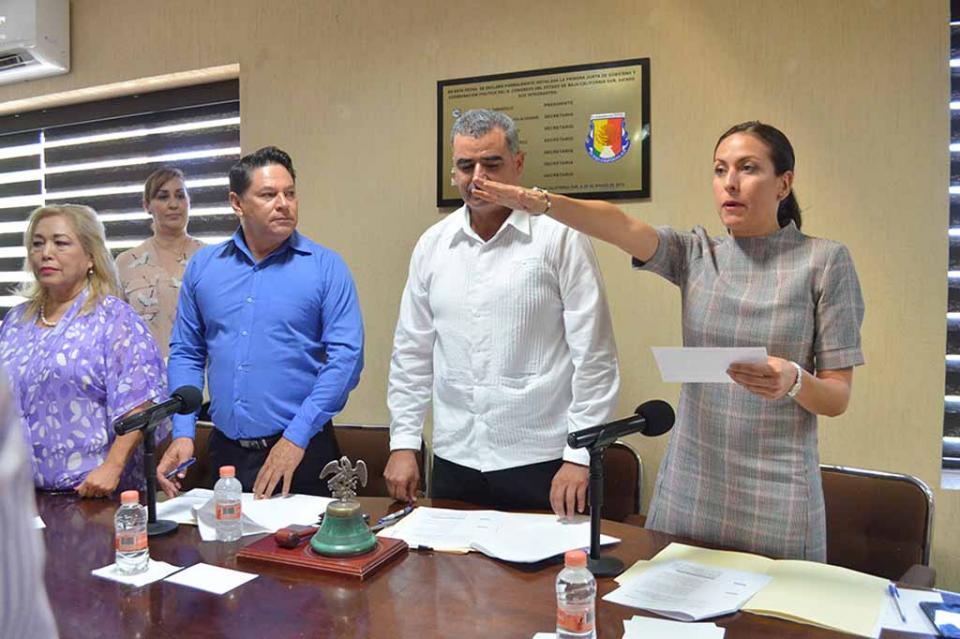Asume Diputada Milena Quiroga romero la Junta de Gobierno y Coordinación Política del Congreso del Estado
