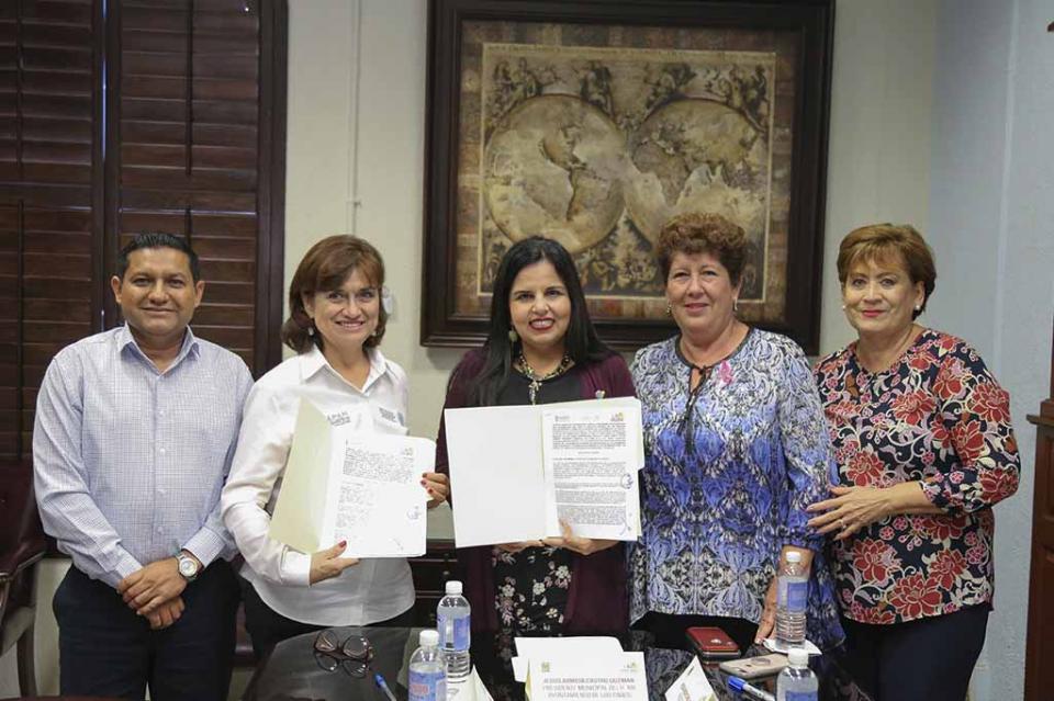 Firman Convenios de Colaboración el H. XIII Ayuntamiento de Los Cabos y el Instituto Nacional de las Personas Adultas Mayores (INAPAM)