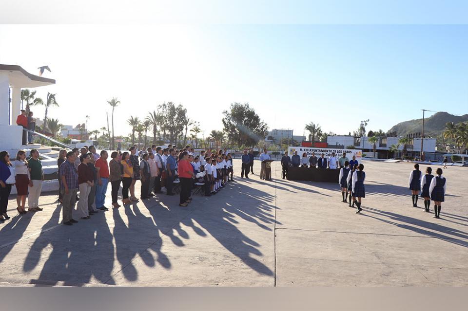 La delegación de Cabo San Lucas conmemora el 73 Aniversario de la ONU