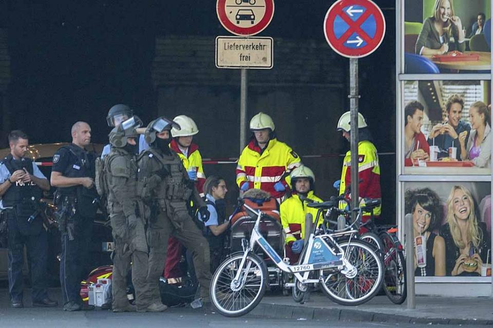 Policía alemana evacúa estación de tren en Colonia por toma de rehenes