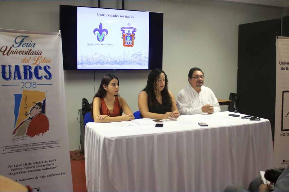 Este martes inicia la Feria Universitaria del Libro UABCS 2018