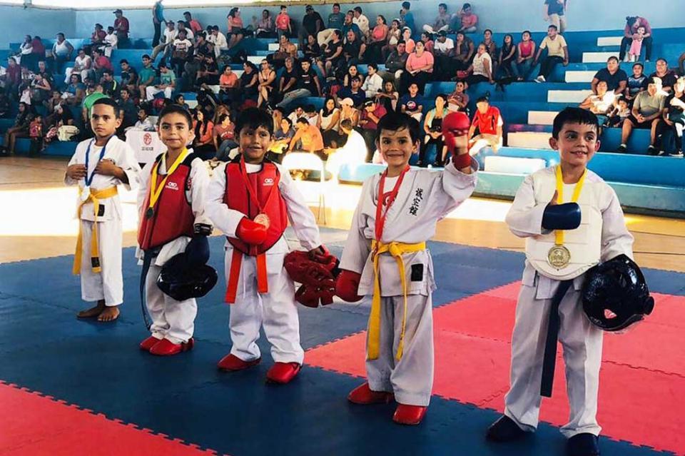 """Con éxito se realizó el """"Torneo de Karate de Convivencia Los Cabos 2018"""""""