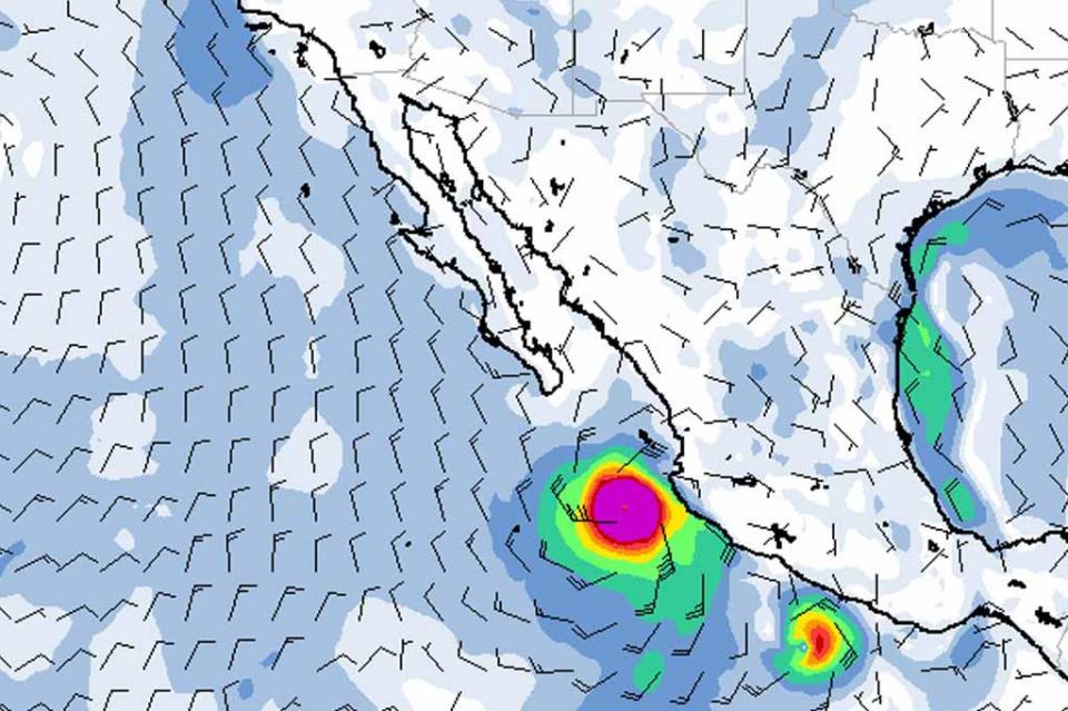 Willa provocará oleaje alto, vientos fuertes y trombas marinas