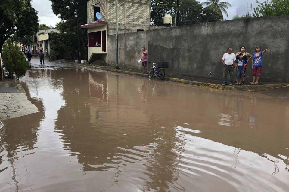 Estado de emergencia por desbordamiento del río Baluarte en Sinaloa