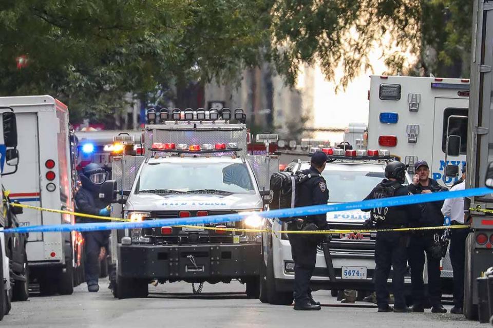 Arrestan a sospechoso de ataques terroristas con paquetes en EUA