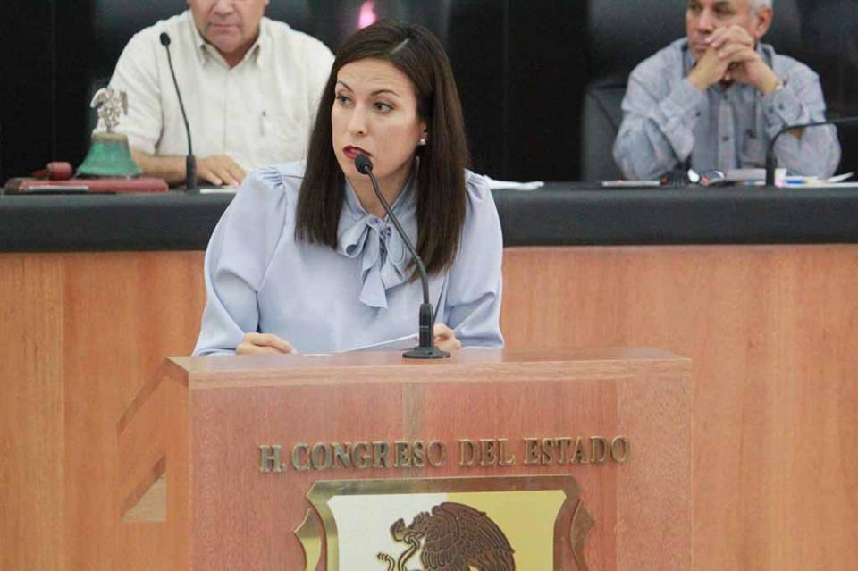 Presenta Diputada Milena Quiroga Romero iniciativa para crear el Reglamento de la Junta de Gobierno y coordinación Política del Congreso del Estado