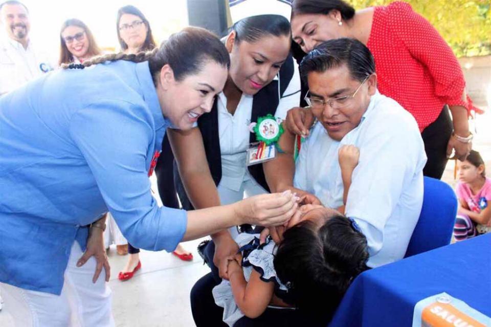 Salud de la niñez, prioridad para el gobierno de BCS: Velázquez de Mendoza