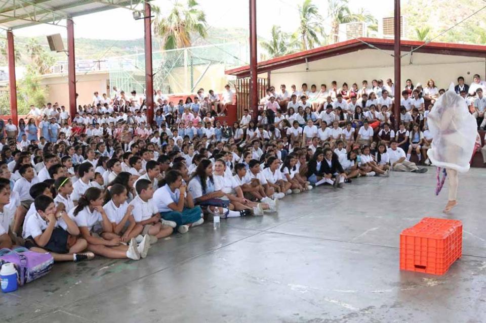 A través de la música y cultura se fortalece la prevención escolar: SEP